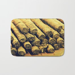 Cigars Bath Mat