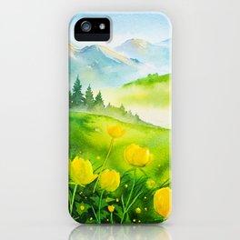 Spring scenery #5 iPhone Case