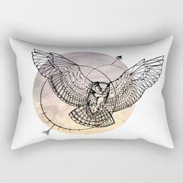 Arrow owl Rectangular Pillow