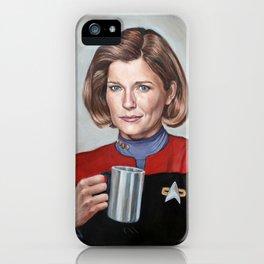 Captain Janeway - Portrait Painting iPhone Case