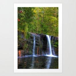 Wolf Creek Falls Art Print