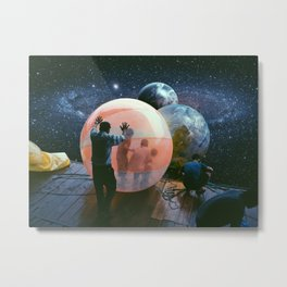 Cosmic Bubble Metal Print