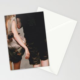 York 35mm Couple Walking Stationery Cards