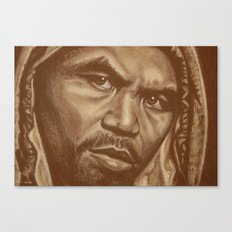 round 12..manny pacquiao Canvas Print