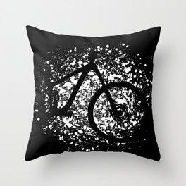 MTB Mountain Bike Cycling Cyclist Downhill Throw Pillow