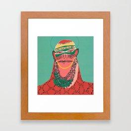 Balaclava Framed Art Print