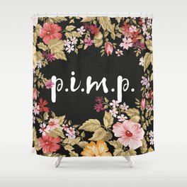 Pimp Shower Curtain