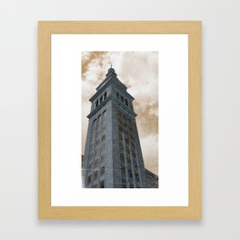 Weathered & Faded Framed Art Print