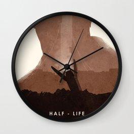 Half Life (II) Wall Clock