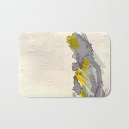 Yellow to Grey Bath Mat