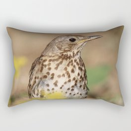 bird mannequin Rectangular Pillow