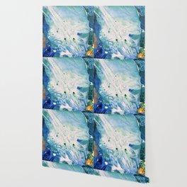 Ocean White Wallpaper