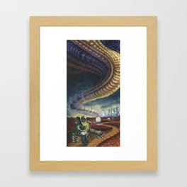Halted Progress Framed Art Print