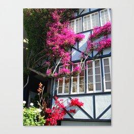 San Francisco House Canvas Print