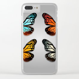 Butterfly Wings Clear iPhone Case