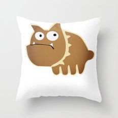 You are ugly! Throw Pillow