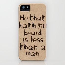 Shakespeare's Macbeth iPhone Case