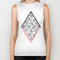 cage Biker Tanks featuring Bird Cage by Galvanise The Dog