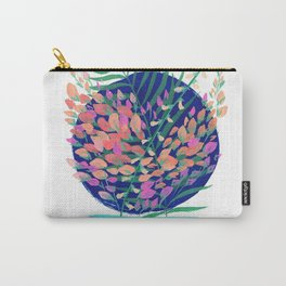 Floral Cascade Carry-All Pouch