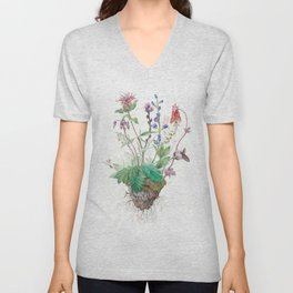 Wildflowers Unisex V-Neck