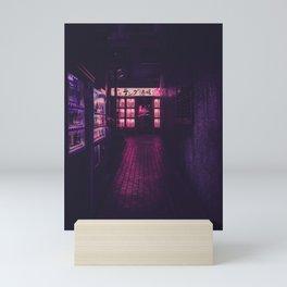 Hidden restaurant Mini Art Print
