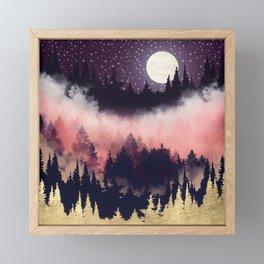 Evening Glow Framed Mini Art Print