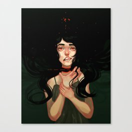 Losing My Head Canvas Print