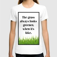 grass T-shirts featuring GRASS by C O R N E L L
