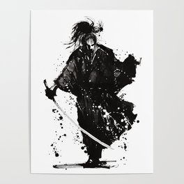 Samurai ronin Poster