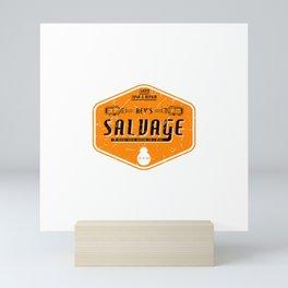 Rey's Salvage Mini Art Print