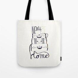 Nowhere Home Tote Bag