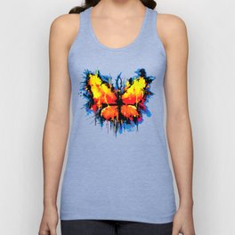 Emotional Butterlfy Unisex Tank Top