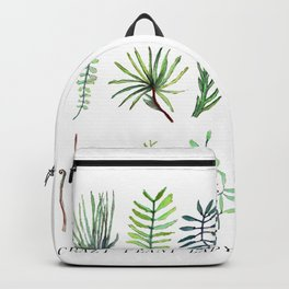 crazy plant lady Backpack