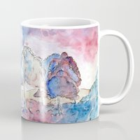 country Mugs featuring COUNTRY by augusta marya