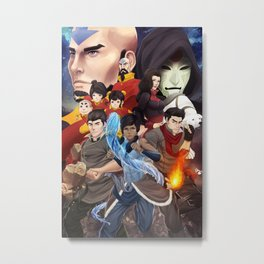 Legend of Korra Metal Print