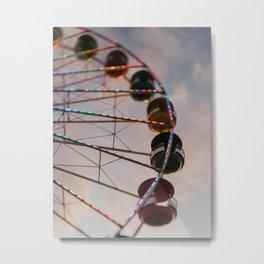 The Ferris Wheel Metal Print