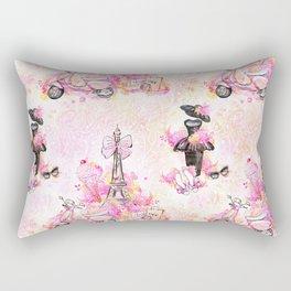 Fashion and Paris #1 Rectangular Pillow