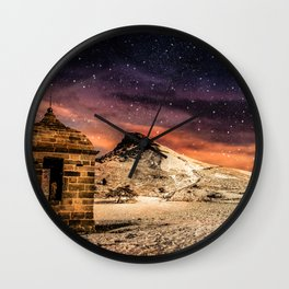 Deep Midwinter Wall Clock