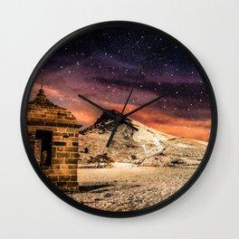 Deep Midwinter Wall Clock