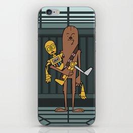 EP5 : Chewie & C3PO iPhone Skin