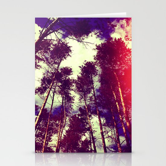 There is a pleasure in the pathless woods... Stationery Cards