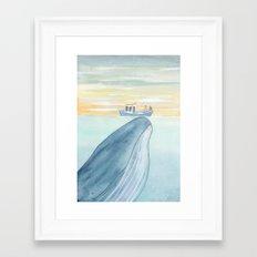Love is magical Framed Art Print