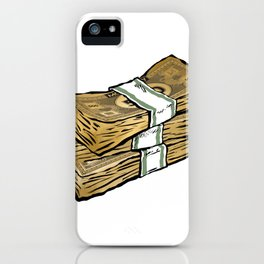 Phat Stacks of 'Real' Money iPhone Case