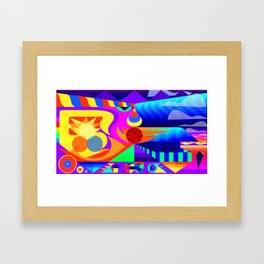 New Horizons Framed Art Print