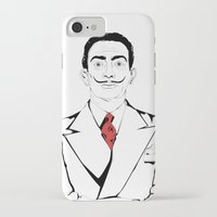 salvador dali iPhone & iPod Cases featuring Salvador Dali by ArpanDholi