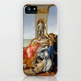 "Sandro Botticelli ""The Calumny of Apelles"" iPhone Case"