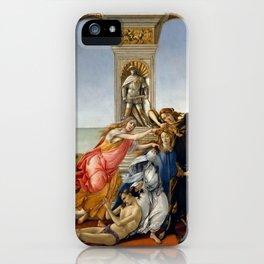 "Sandro Botticelli ""The Calumny of Apelles"" iPhone Case"