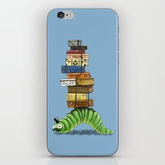 Monsieur Caterpillar iPhone & iPod Skin