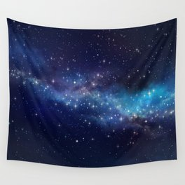 Floating Stars Wall Tapestry