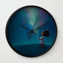 Wish Jar Wall Clock